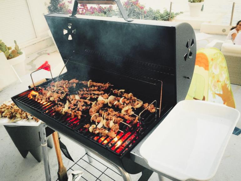 Making of Bun cha Family Barbecue