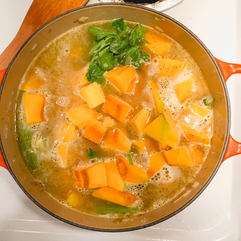Japanese Pumpkin Squash Soup